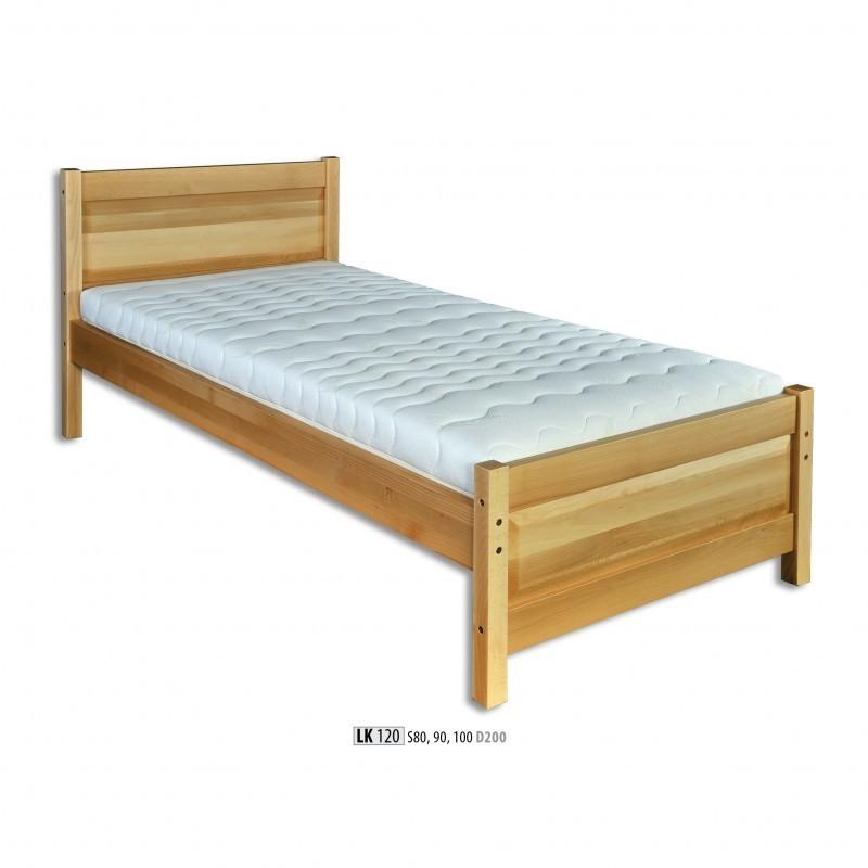Łóżko bukowe LK 120