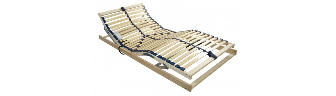 Stelaże do łóżek z elektryczną regulacją
