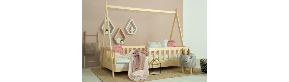 Łóżka dziecięce, młodzieżowe